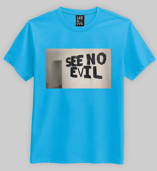 See No Evil Wall t-shirt