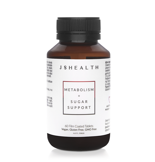 Metabolism + Sugar Support Formula - 60 Tablets
