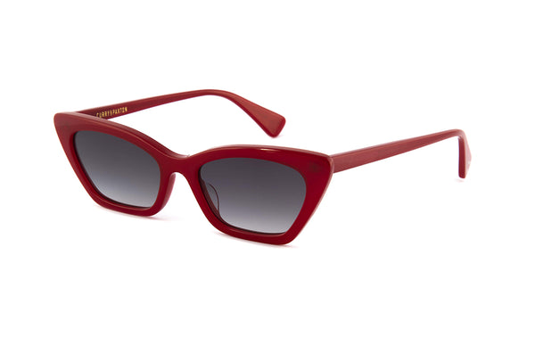 Marilyn Sunglasses in Dark Red Crystal