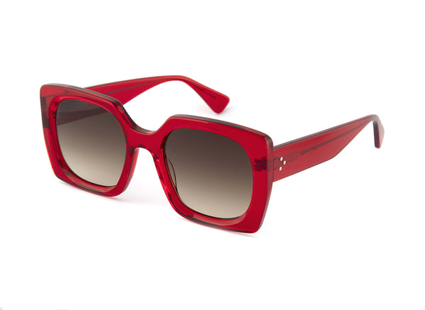 Faye Sunglasses in Red
