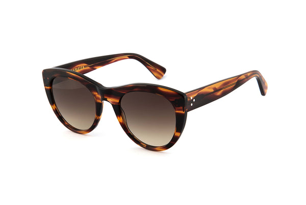 Grace Sunglasses in Sunset Caramel