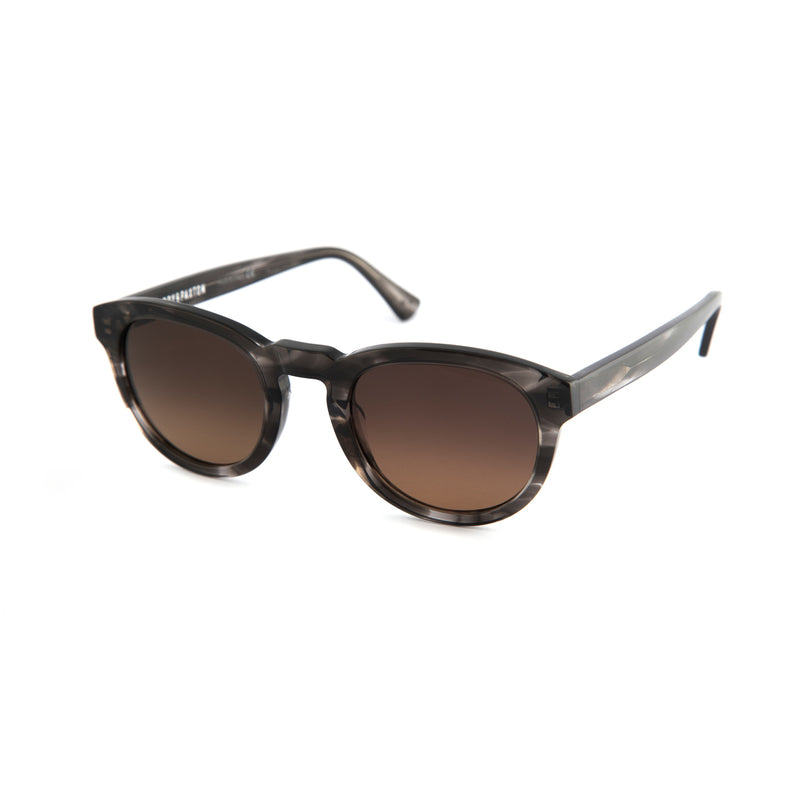 Freddie Sunglasses in Grey Stripe