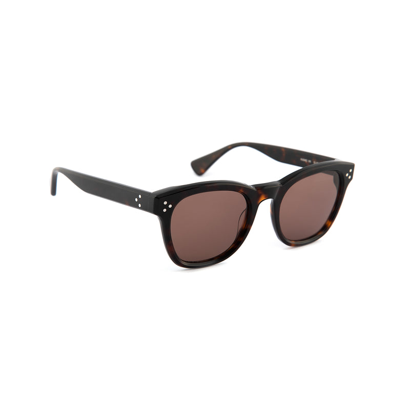 Hughes Sunglasses in Dark Tortoiseshell