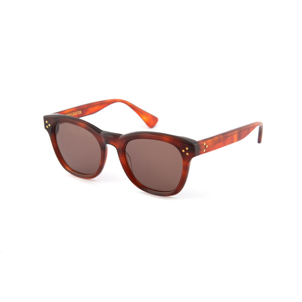 Hughes Sunglasses in Light Tortoiseshell
