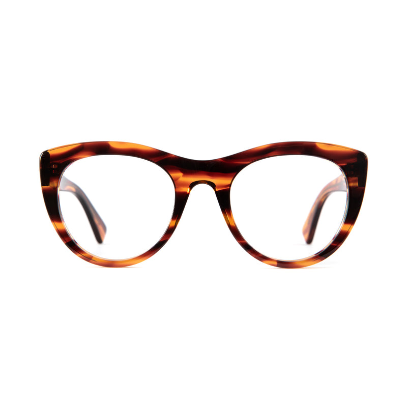 Grace Optical Frames in Sunset Caramel