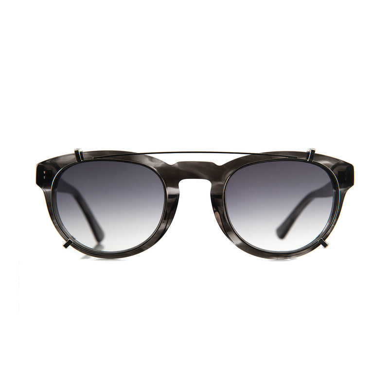 Freddie Clip On Lenses in Grey