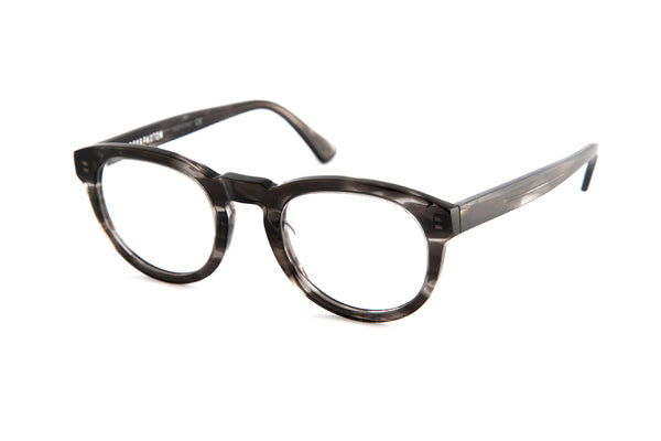Freddie Optical Frames in Grey Stripe