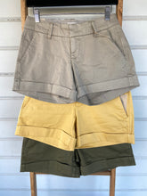 Load image into Gallery viewer, Mid-Rise Cuffed Shorts-Dear John