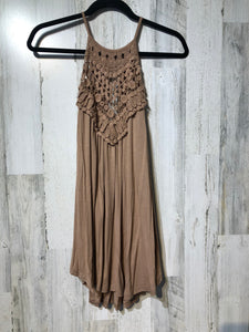 Easy Breezy Tank- Taupe