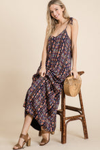 Load image into Gallery viewer, Navy Southwestern Maxi