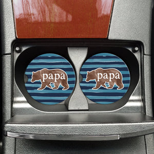Papa Bear Car Coaster (1 Coaster)