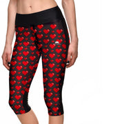 LOVE ME ATHLETIC CAPRI
