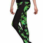 MARIJUANA ATHLETIC LEGGINGS