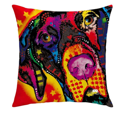 COLORFUL CONFUSION PILLOW COVER