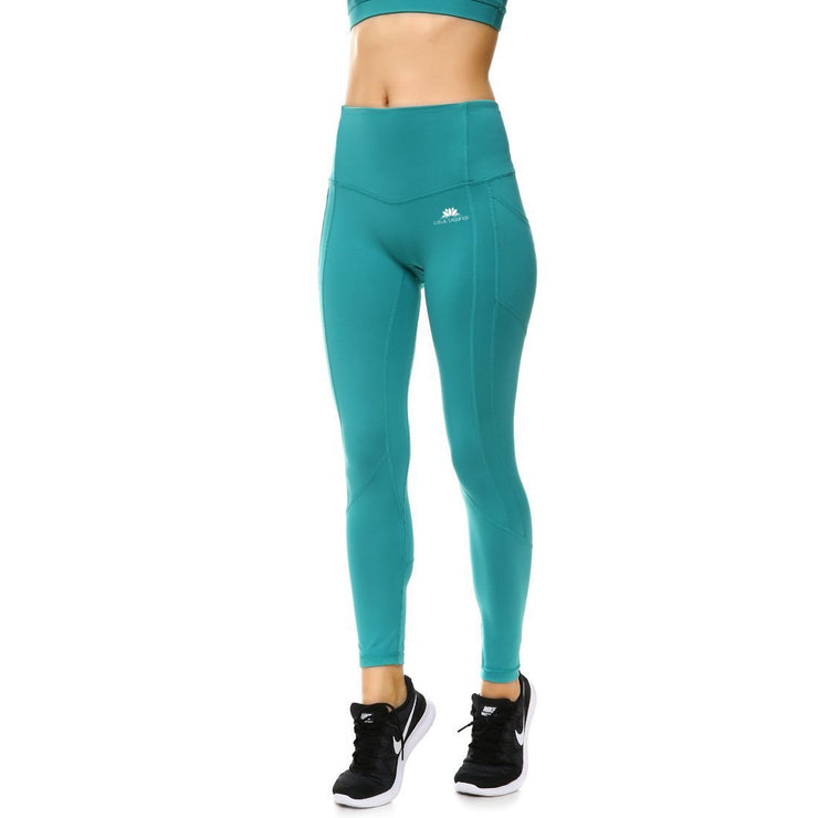 TEAL PERFORMX LEGGINGS