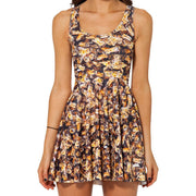BEE REVERSIBLE SKATER DRESS