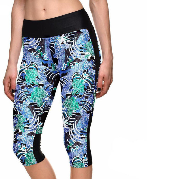LUCKY FISH ATHLETIC CAPRI