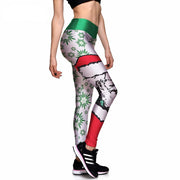 Santa Babe Athletic Leggings - Lotus Leggings