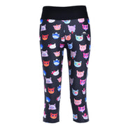 CUTE KITTIES ATHLETIC CAPRI
