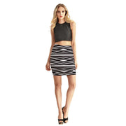BEAUTIFUL ILLUSION BODYCON SKIRT