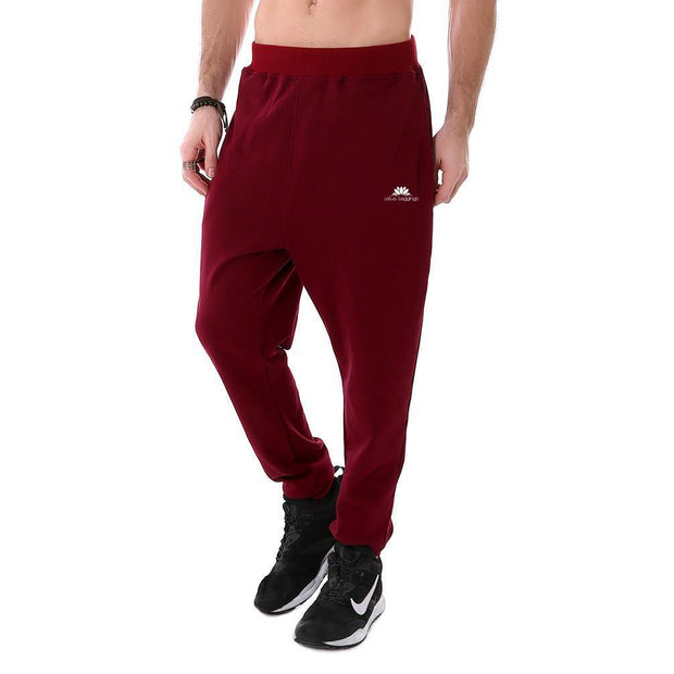 PAINTED RED JOGGERS