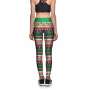 Under the Tree Athletic Leggings - Lotus Leggings