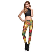 HOLIDAY LIGHTS LEGGINGS