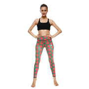 LOTUSX™ PINK GRAPEFRUIT LEGGINGS
