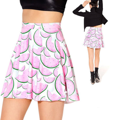 WATERMELON SKATER SKIRT