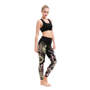 LOTUSX™ FEARLESS BLOSSOM LEGGINGS