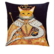 ROYALTY CATS PILLOW COVER