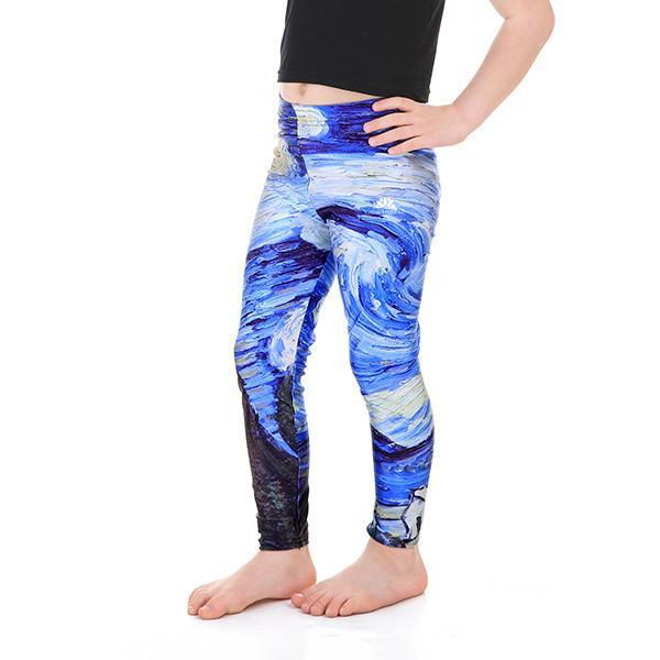 KID'S STARRY NIGHT LEGGINGS