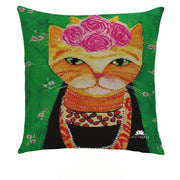 PURRTY CATS PILLOW COVER