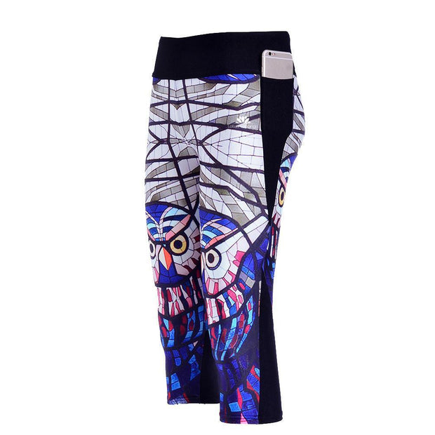 GLASS OWL ATHLETIC CAPRI