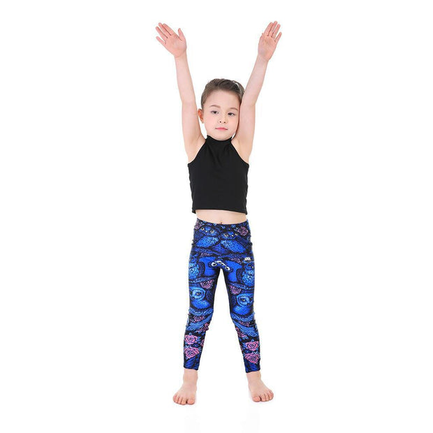 KID'S MIDNIGHT OWL LEGGINGS