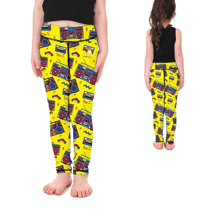 PUMP IT UP KID'S LEGGINGS