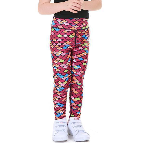 LOTUSX™ KID'S MERMAID SCALE LEGGINGS