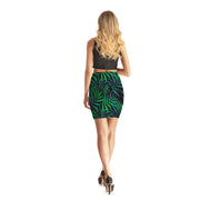 Dark Paradise Bodycon Skirt - Lotus Leggings