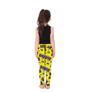 Pump It Up Kid's Leggings - Lotus Leggings