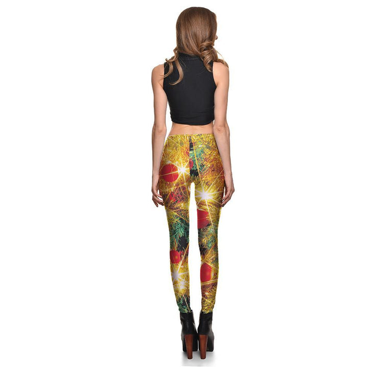 Holiday Lights Leggings - Lotus Leggings