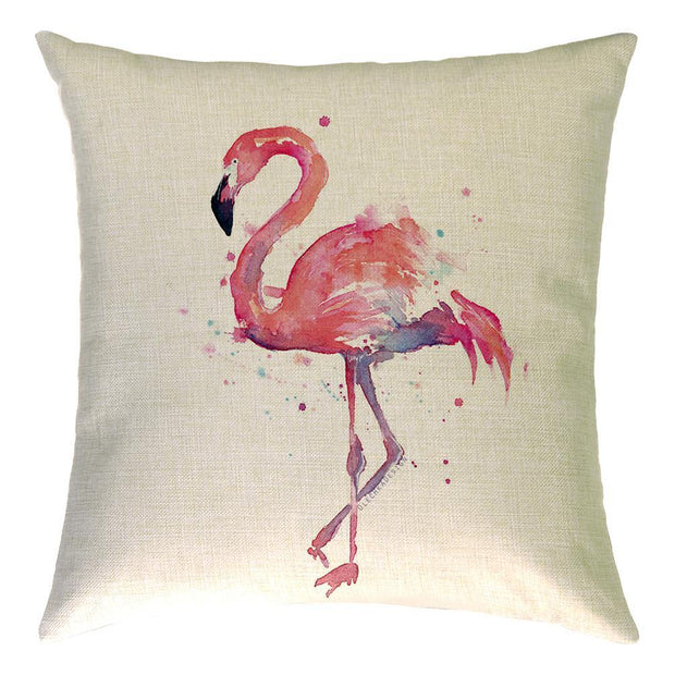 Love Me Flamingo Pillow Cover - Lotus Leggings