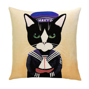 The Working Cats Pillow Cover - Lotus Leggings