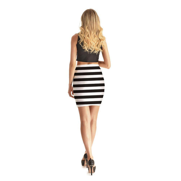 Pretty Stripes Short Skirt - Lotus Leggings