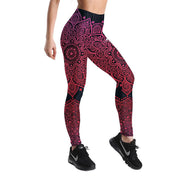 PINK MANDALA LEGGINGS