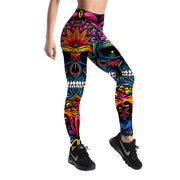NEON SKULL LEGGINGS