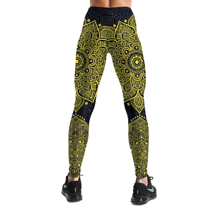 GOLDEN MANDALA LEGGINGS