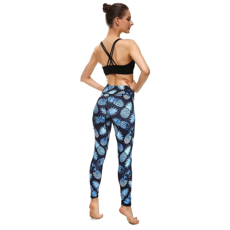 LotusX™ Passion Pineapple Leggings - Lotus Leggings