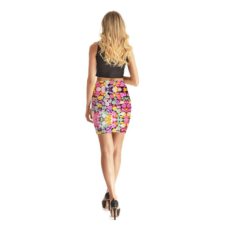 Love Candy Short Skirt - Lotus Leggings