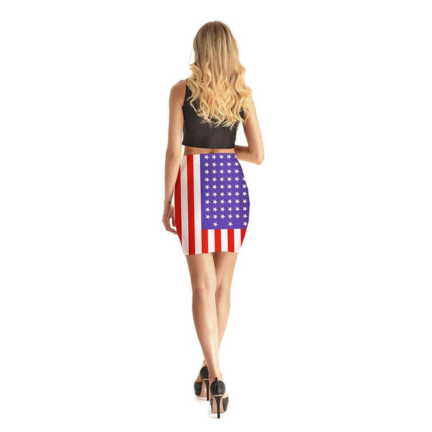 Miss America Short Skirt - Lotus Leggings