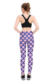 Starry Scale Leggings - Lotus Leggings